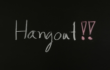 What are Google Hangouts?